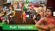 The Sims Mobile screenshot 5 'Play together'