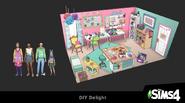Créez un kit Les Sims 4 - Paradis des fans de travaux manuels