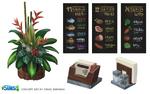 Sims 4 Escapada Gourmet Arte Conceptual 2