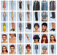 Sims 4 Vida en el Pueblo CAS 2