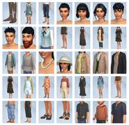 Sims 4 Vida en el Pueblo CAS 1