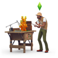 The Sims 4 Jungle Adventure Render 03