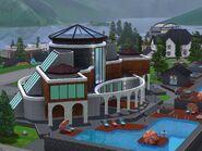 Hidden Springs spa view