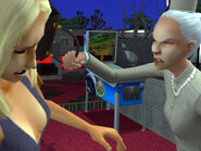 Dina smacked by Mrs. Crumplebottom 1