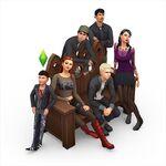 Les Sims 4 Vivre Ensemble Render 4
