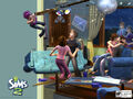 The Sims 2 old trailer - wild party