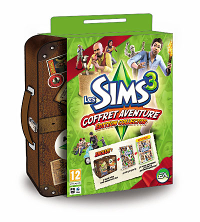 Les Sims 3: Coffret Aventure - Edition Collector
