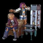 Render Les Sims 3 70's 80's 90's 02