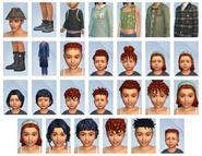 Sims 4 Vida en el Pueblo CAS 4