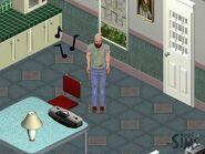 Bob Newbie in his home