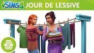 Les Sims 4 Kit d'objets Jour de lessive bande-annonce officielle