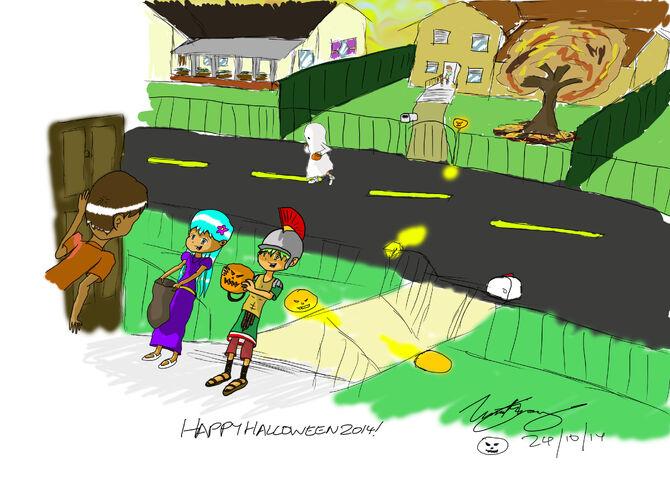 Happy Halloween from