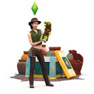 Sims4 Aventura en la Selva Render 1