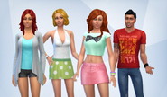 Caliente household (The Sims 4)