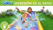 Los Sims 4 Diversión en el Patio Pack de Accesorios tráiler oficial