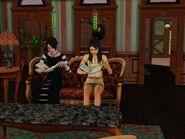 Cornelia Lápida y Elvira leyendo