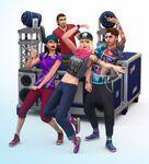 Les Sims 4 Vivre Ensemble Render 5
