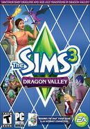 The Sims 3 Dragon Valley Cover