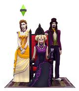 The Sims 4 Vampires Render 07