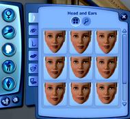 CAS - Tête et oreilles (Les Sims 3).png