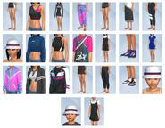 Sims 4 Moda retro CAS