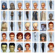 Sims 4 Viaje a Batuu CAS 2