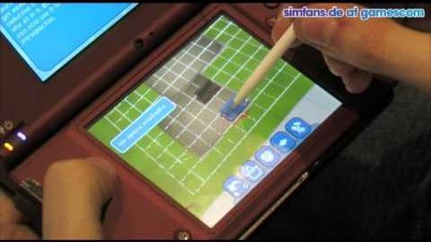 Die Sims 3 Nintendo DS - gamescom Hands On
