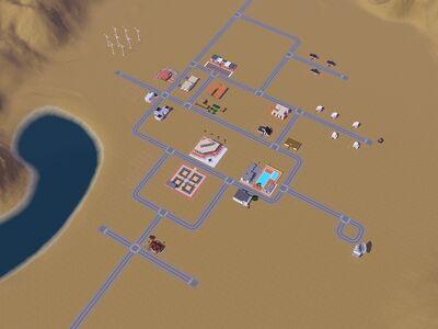 Politécnica La Fiesta-Sims 3 hecho por Luis Simspedia
