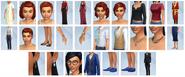 Sims4 Glamour Vintage CAS