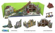 Sims 4 Rumbo a la Fama Arte Conceptual 11