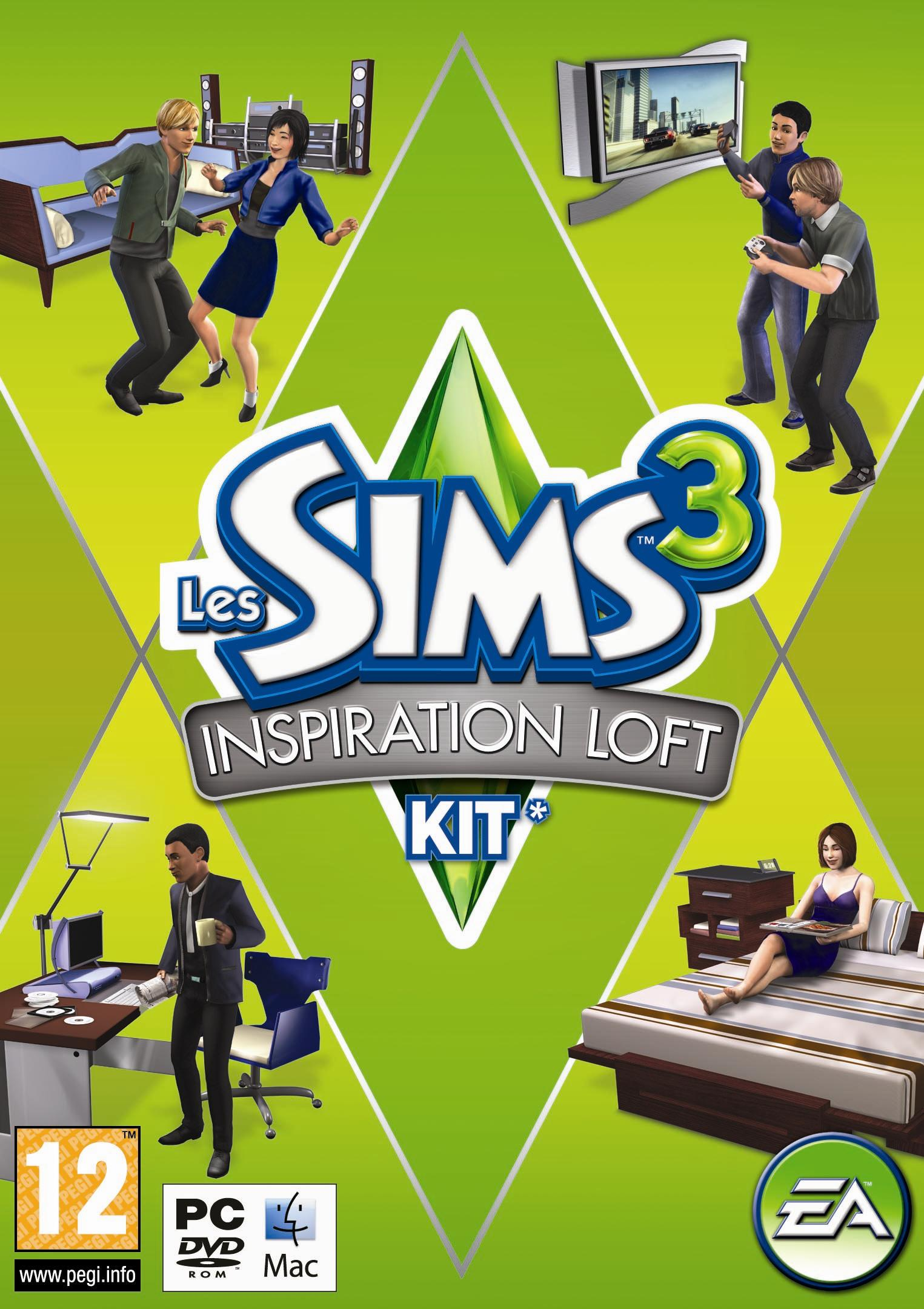 Les Sims 3: Inspiration Loft