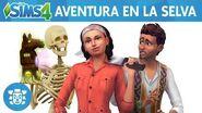 Los Sims 4 Aventura en la Selva tráiler oficial