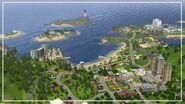 THE SIMS 3 WORLD OVERVIEW New Sunset Valley