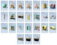 Sims 4 Portentos del Punto Objetos 1