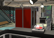 Amar's Clothing and Instruments changing booths