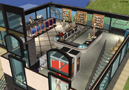 Amar's Clothing and Instruments second floor isometric 2