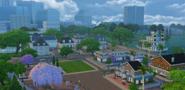 Magnolia Promenade view