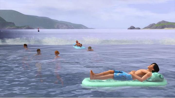 Плавание в океане