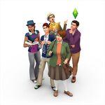 Les Sims 4 Vivre Ensemble Render 3