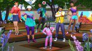 Sims 4 Moda retro 1
