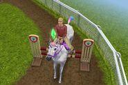 Sim con unicornio arcoiris Freeplay