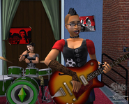 Playing in a band