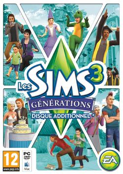 Jaquette Les Sims 3 Générations.png