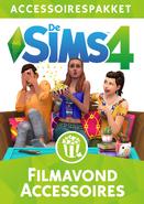 De Sims 4 Filmavond Accessoires Cover