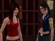 Christine and Joana