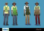 Les Sims 4 Concept Arthur Klein 8