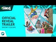 The Sims™ 4 Snowy Escape- Official Reveal Trailer