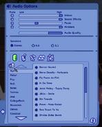 Custom radio station button TS2