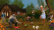 Ts3 supernatural fairzombie garden