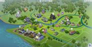 Willow creek map